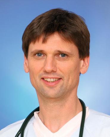 PD Dr. Johannes Winning, Leiter des Funktionsbereich Notfallmedizin der Klinik für Anästhesiologie und Intensivtherapie am Universitätsklinikum Jena