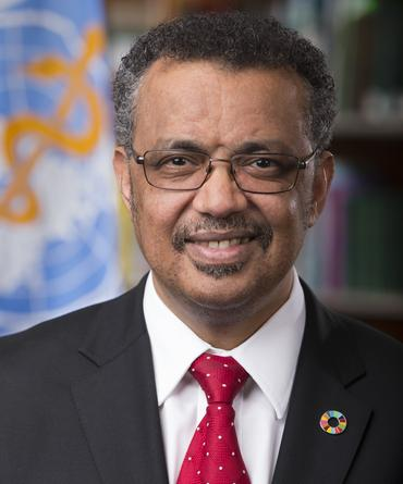 <span>WHO</span>-Generalsekretär Dr. Tedros Adhanom Ghebreyesus
